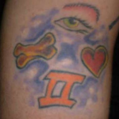'I Love to Bone' Tattoo