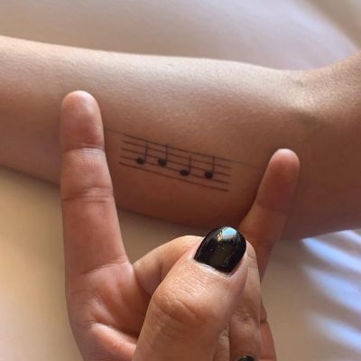 'Musical Note' Tattoo