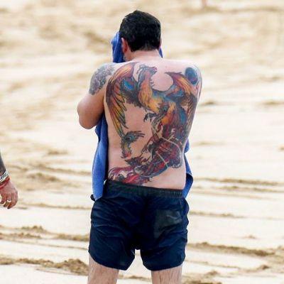 'The Giant Phoenix' Tattoo