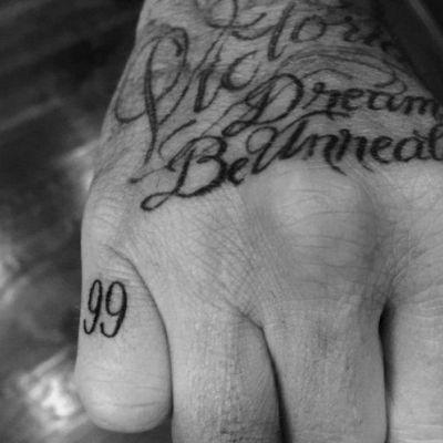 '99' Tattoo